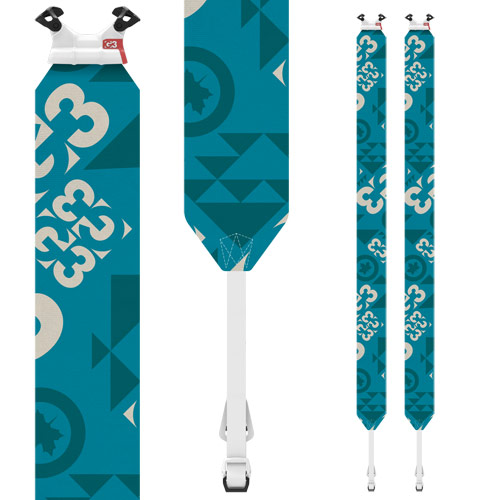 G3 ジースリー ESCAPIST GLIDE エスケーピストグライド 120mm/Lサイズ スキーシール バックカントリー 山スキー: