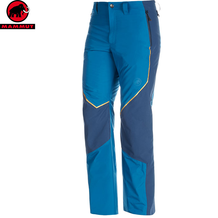MAMMUT マムート Scalottas HS Thermo Pants Men スキーウェア パンツ メンズ (sapphire-wingteal):1020-12480 [34SS_WSsw]