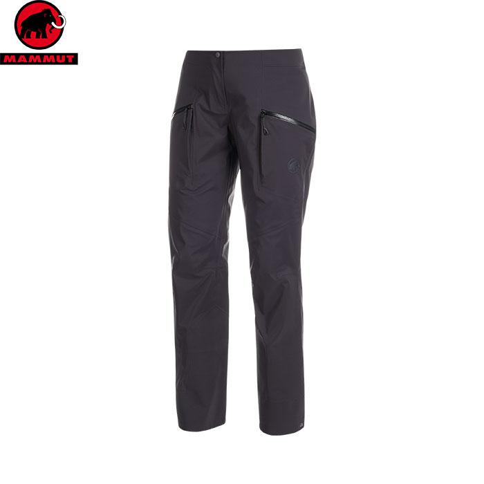 MAMMUT マムート Haldigrat HS Pants Women スキーウェア ビブ レディース (black):1020-12590 [34SS_WSsw]
