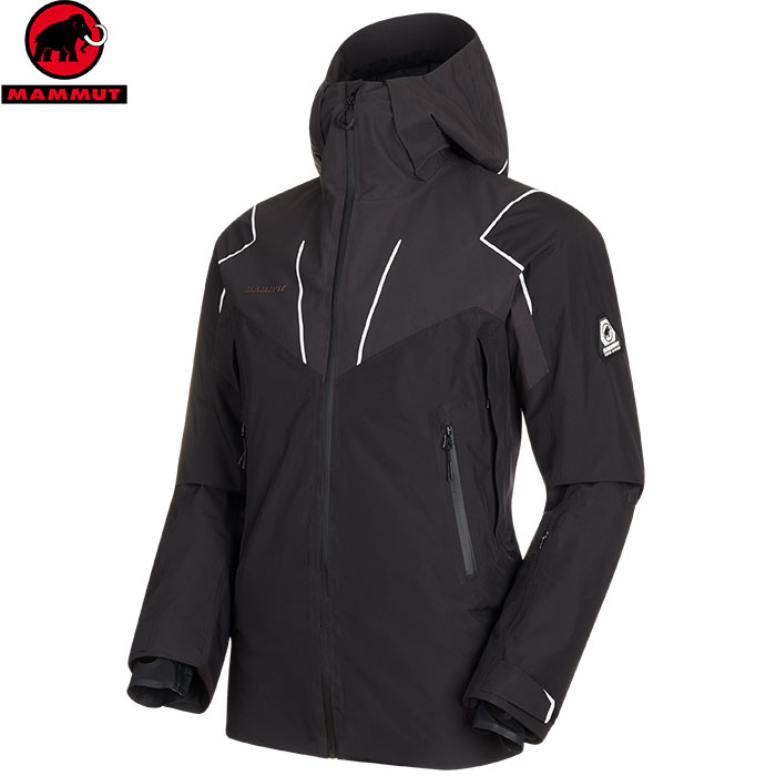 MAMMUT マムート Scalottas HS Thermo Hooded Jacket Men スキーウェア ジャケット メンズ (black-phantom):1010-27170 [34SS_WSsw]