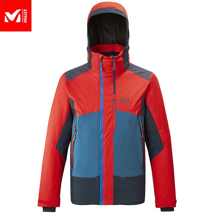 MILLET ミレー 7/24 STRETCH JKT M スキーウェア ジャケット メンズ (FIREーORIONBLUE):MIV8084 [34SS_WSsw]