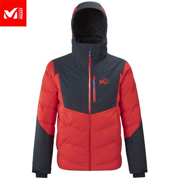 MILLET ミレー ROBSON PEAK JKT M スキーウェア ジャケット メンズ (FIREーORIONBLUE):MIV8088 [34SS_WSsw]