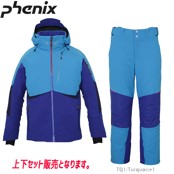 PHENIX フェニックス PHENIX TEAM JACKET (TQ)+PHENIX TEAM 3-D PANTS (TQ1) PF972OT03+PF972OB03 19-20 メンズ スキーウエア 上下セット: [34SS_MSsw]