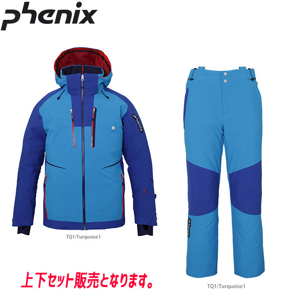 PHENIX フェニックス DEMO TEAM JACKET (TQ1)+DEMO TEAM 3-D PANTS (TQ1) PF972OT12+PF972OB12 19-20 メンズ スキーウエア 上下セット: [34SS_MSsw]