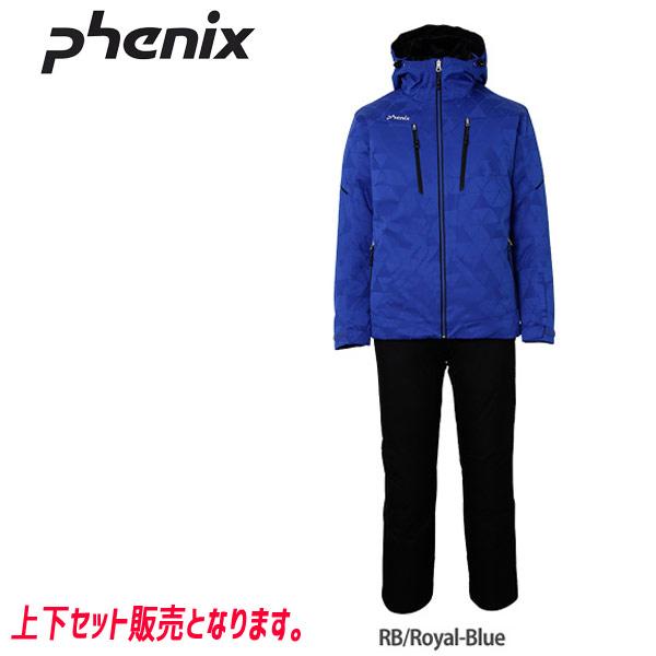 PHENIX フェニックス CYBER JQ TWO-PIECE (RB) 19-20 メンズ スキーウエア 上下セット:PS9722P31 [34SS_MSsw]