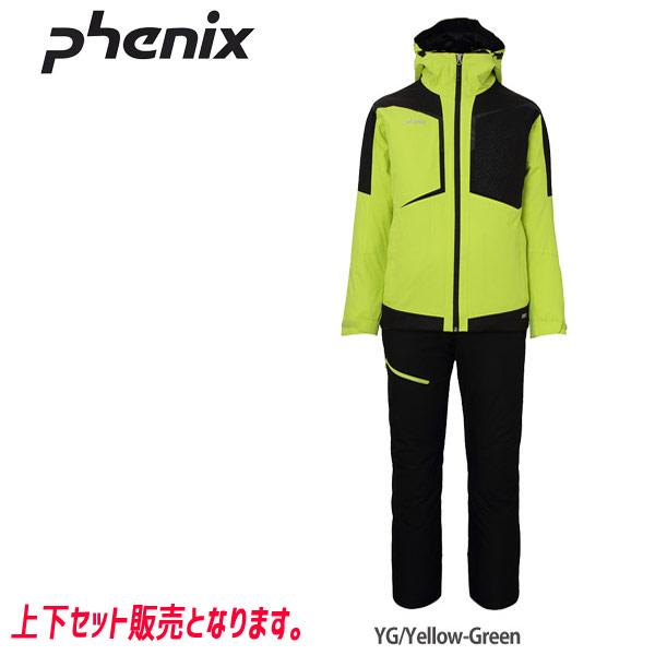 PHENIX フェニックス DIAMOND TWO-PIECE (YG) 19-20 メンズ スキーウエア 上下セット:PS9722P30 [34SS_MSsw]