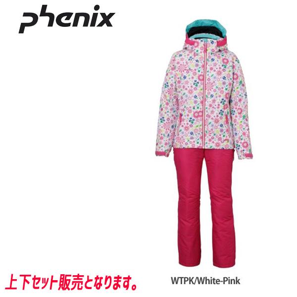 フェニックス スキーウェア ジュニア PHENIX SNOW CRYSTAL GIRLS 2ピース 19-20 上下セット 2020 (WTPK):PS9H22P90 [34SS_JRsw]