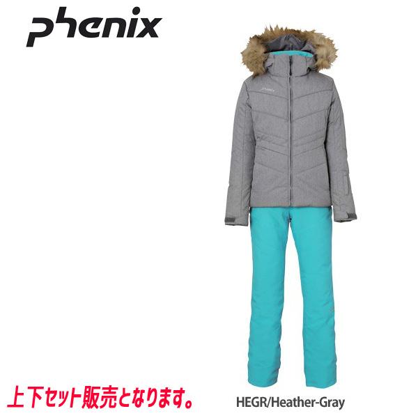 フェニックス スキーウェア ジュニア PHENIX CATTLEYA GIRL'S 2ピース 19-20 上下セット 2020 (HEGR):PS9H22P92 [34SS_JRsw]