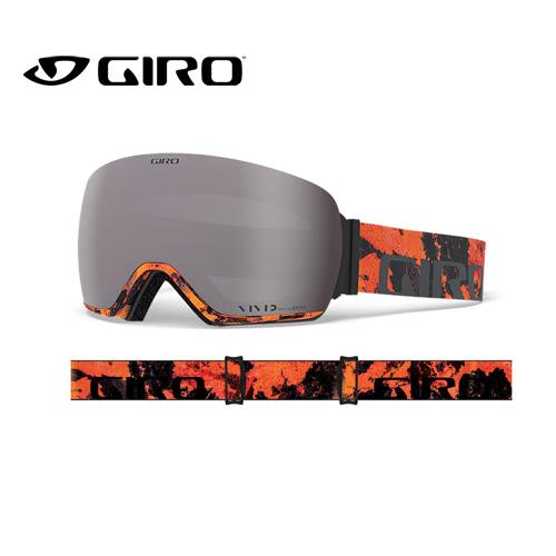 GIRO ジロ 19-20 ARTICLE アーティクル 7105280 LAVA VIVID アジアンフィット AF ゴーグル メンズ 球面レンズ:7105280