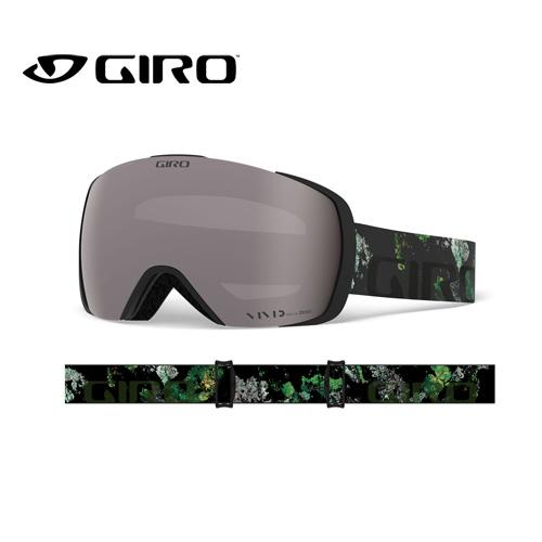 GIRO ジロ 19-20 CONTACT コンタクト 7105336 MOSS VIVID アジアンフィット AF ゴーグル メンズ 球面レンズ:7105336