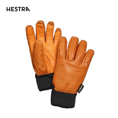 HESTRA ヘストラ 2020モデル Omni GTX Full Leather 31910 オムニゴアテックス 710(Cork) スキーグローブ レザー GTX 5本指 [34SS_GLO]