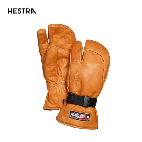 HESTRA ヘストラ 2020モデル 3-Finger Full Leather 30872 スリーフィンガーフルレザー 710(Cork) スキーグローブ スノーボード [34SS_GLO]