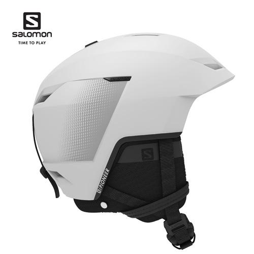薄型設計を採用したオールマウンテンヘルメット Salomon サロモン 20-21 ヘルメット PIONEER LT 人気の製品 CA パイオニア スキー ファッション通販 プロテクター L41157600 軽量 White クーポン利用で10%OFF 2月16日20:00から23日10:00まで スノーボード SKI_ACC