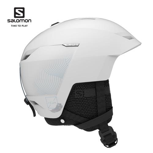薄型設計を採用した軽量オールマウンテンヘルメット OUTLET SALE Salomon サロモン 20-21 ヘルメット ICON LT CA アイコン White L41157700 プロテクター 女性モデル スノーボード レディース クーポン利用で10%OFF スキー 2月16日20:00から23日10:00まで SKI_ACC ついに入荷