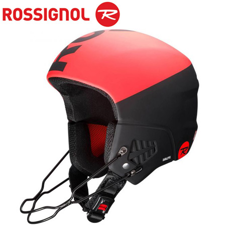ROSSIGNOL ロシニョール 19-20 HERO 9 FIS IMPACTS (WITH CHINGUARD) ヘルメット FIS対応 チンガード付属 (RED-BLACK):RKHH100-I [34SS_HEL]
