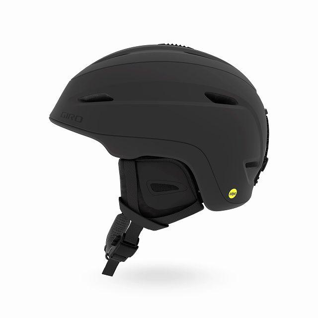 GIRO ジロー 19-20 ヘルメット 2020 ZONE MIPS Matte Black ゾーンミップス スキーヘルメット メンズ MIPS カメラ取付可: [34SS_HEL]