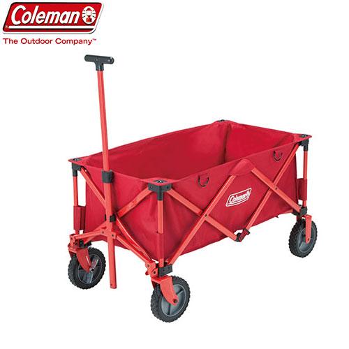 COLEMAN コールマン アウトト゛アワコ゛ン 〔2019SS キャンプ用品 カート 台車 荷車 〕 (レッド):2000021989