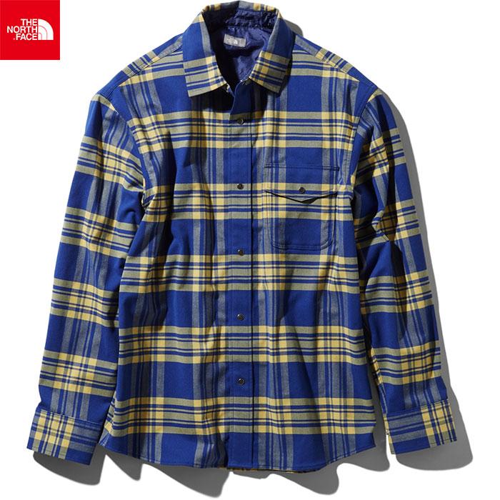 THE NORTH FACE ノースフェイス 2019 SS ロングスリーブヌハッチシャツ L/S Nuthatch Shirt ストレッチ性 (B):NR11951