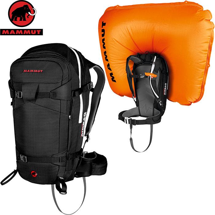 MAMMUT マムート Pro Removable Airbag 3.0 アバランチ エアバック ザック バックパック 2019SS (black):2610-01270