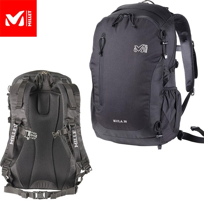 MILLET ミレー クーラ 30 KULA 30 2018FW スキー用ザック バックカントリー (BLACK-NOIR):MIS0545