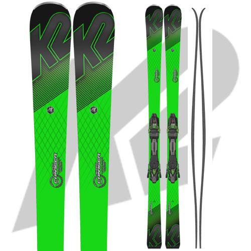 K2 ケーツー 17-18 スキー Ski 2018 SUPER CHARGER スーパーチャージャー [金具付き] オールラウンド カービング: [2018pt0]
