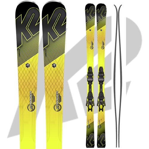 10%OFFクーポン発行中!11/22まで K2 ケーツー 17-18 スキー Ski 2018 CHARGER チャージャー [金具付き] オールラウンド カービング: [2018pt0]