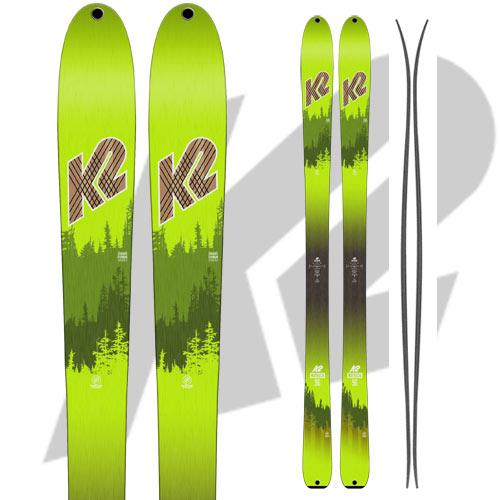 K2 ケーツー 17-18 スキー Ski 2018 WAYBACK 96 ウェイバック 96 [板のみ] ロッカー オールマウンテン バックカントリー: [2018pt0]