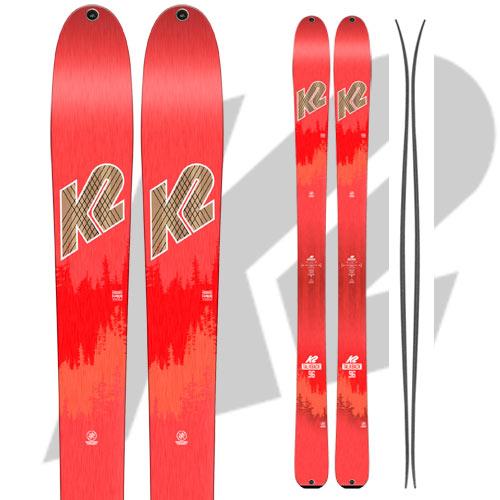 10%OFFクーポン発行中!11/22まで K2 ケーツー 17-18 スキー Ski 2018 トークバック 96 Talkback 96 [板のみ] オールマウンテン レディース バックカントリー: [2018pt0]