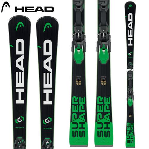 HEAD ヘッド 17-18 スキー ski 2018 SUPERSHAPE i MAGNUM スーパーシェイプ i マグナム + PRD 12 (金具付き) 基礎 オールラウンド: [2018pt0]