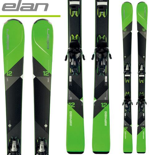 [11/16まで 10%OFFクーポンあり] ELAN エラン 17-18 スキー ski 2018 AMPHIBIO 12 TI アンフィビオ12 TI + ELS 11.0 SHIFT (金具付き) 基礎 オールマウンテン: [2018pt0]