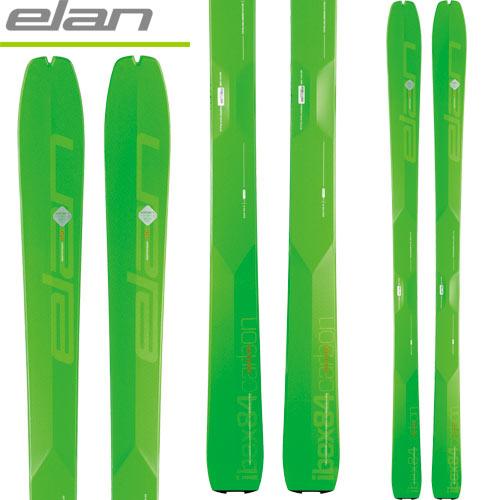 ELAN エラン 18-19 スキー ski 2019 IBEX 84 CARBON アイベックス84カーボン (板のみ) バックカントリー ツアー: