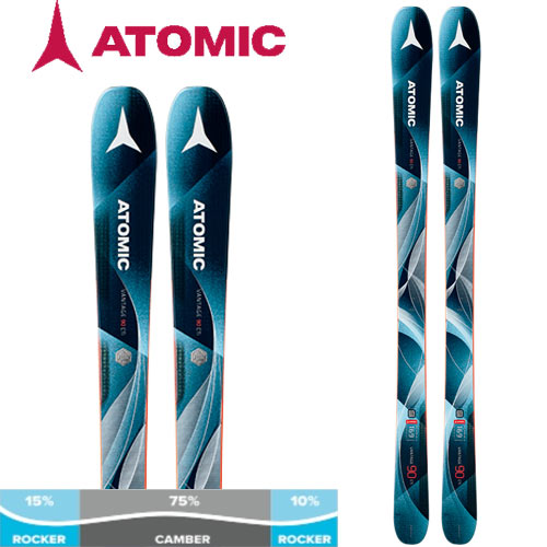 10%OFFクーポン発行中!11/22まで ATOMIC アトミック 17-18 スキー ski 2018 VANTAGE 90 CTI W ヴァンテージ90CTI W (板のみ) レディース オールマウンテン: [2018pt0]