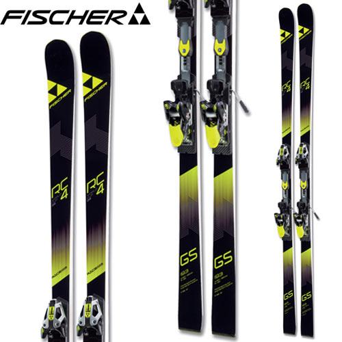フィッシャー FISCHER 17-18 スキー SKI 2018 RC4 WC GS CURV BOOSTER MASTERS カーブ + RC4 Z 17 Freeflex (金具付き) マスターズ レース: