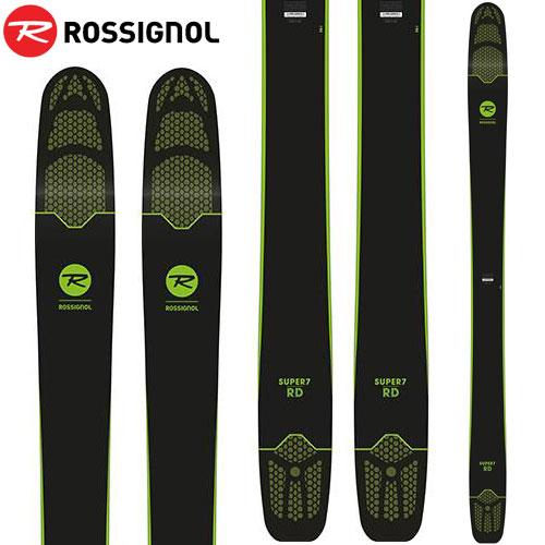 ROSSIGNOL ロシニョール 18-19 スキー ski 2019 SUPER 7 RD スーパーセブン RD (板のみ) オールマウンテン パウダー ロッカー (-):RAGQH01-H