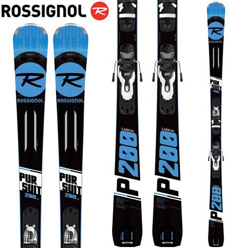 ROSSIGNOL ロシニョール 18-19 スキー 2019 パシュート200 PURSUIT 200 CARBON (Xpress2プレート) + XPRESS10 (金具付き) デモ 基礎 (-):RAHBK01