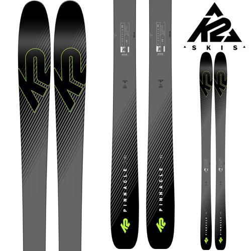 [11/16まで 10%OFFクーポンあり] K2 ケーツー 18-19 スキー Ski 2019 PINNACLE 95Ti ピナクル 95ti (板のみ) パウダー ロッカー オールマウンテン (-):