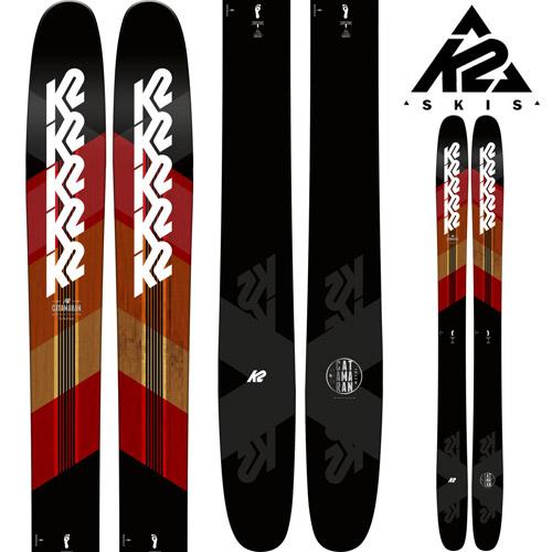 K2 ケーツー 18-19 スキー Ski 2019 CATAMARAN カタマラン (板のみ) パウダー ロッカー オールマウンテン フリーライド (-):