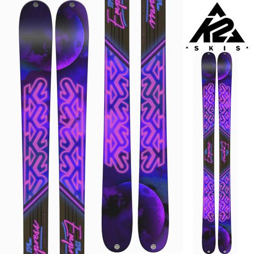 K2 ケーツー 18-19 スキー Ski 2019 EMPRESS エンプレス (板のみ) ロッカー オールマウンテン フリーライド フリースタイル