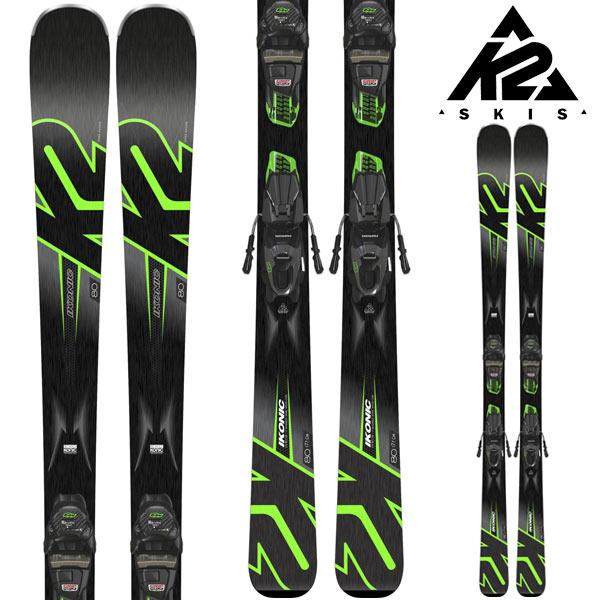 [11/16まで 10%OFFクーポンあり] K2 ケーツー 18-19 スキー Ski 2019 IKONIC 80 アイコニック 80 (金具付き) オールマウンテン オールコンディション (-):
