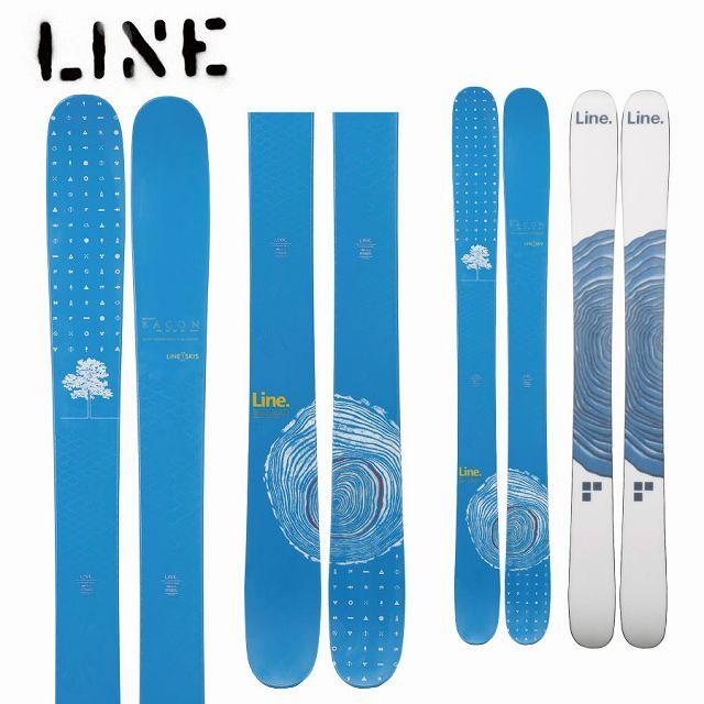 LINE ライン 18-19 スキー Ski 2019 SIR FRANCIS BACON SHORTY サーフランシスベーコンショーティ (板のみ) パウダー ロッカー フリーライド (-):