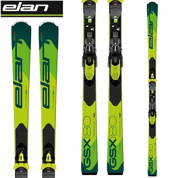 ELAN エラン 18-19 スキー Ski 2019 GSX FUSION (金具付き) GS 基礎 大回り