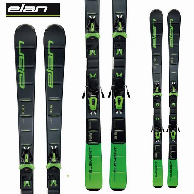 ELAN エラン ELEMENT 18-19 スキー エラン Ski 2019 エレメント ELEMENT GREEN エレメント LIGHT SHIFT (金具付き) 初中級 オールラウンド (-):, アサヒシ:a11f69d4 --- sunward.msk.ru