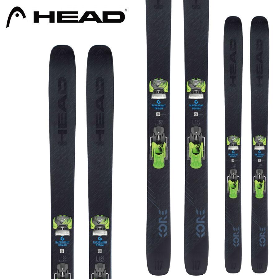 HEAD ヘッド 18-19 スキー Ski 2019 コア 117 KORE 117 (板のみ) パウダー ロッカー (-):