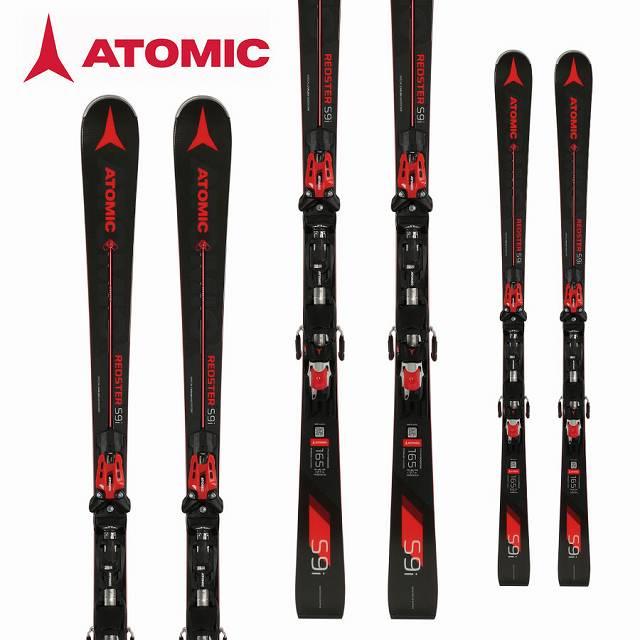 ATOMIC アトミック 18-19 (-):AA0027276 スキー Ski 2019 レッドスター 18-19 レッドスター REDSTER S9i (X12TL-R 金具付き) デモ 基礎 小回り (-):AA0027276, はくでん:db30ec14 --- sunward.msk.ru
