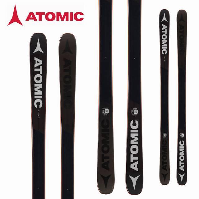[11/16まで 10%OFFクーポンあり] ATOMIC アトミック 18-19 スキー Ski 2019 パンクス 7 PUNX 7 (板のみ) フリースタイル ツインチップ (-):AA0027228