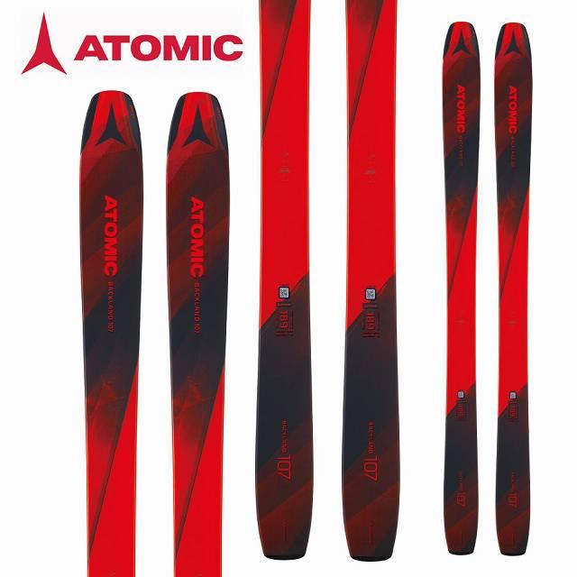 ATOMIC アトミック BACKLAND ATOMIC 18-19 (-):AA0027208 スキー Ski 2019 バックランド BACKLAND 107 パウダー ロッカー (-):AA0027208, きもの ほ乃香:15090ef2 --- sunward.msk.ru