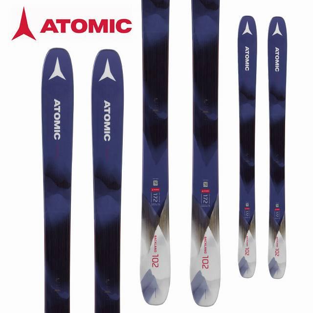 ATOMIC アトミック 18-19 スキー Ski (-):AA0027354 アトミック 2019 Ski バックランド BACKLAND 102 W パウダー ロッカー レディース (-):AA0027354, クメグン:390bdf90 --- sunward.msk.ru
