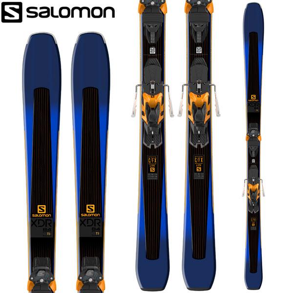 [11/16まで 10%OFFクーポンあり] SALOMON サロモン 18-19 スキー Ski 2019 XDR 84 TI (WARDEN MNC 13 金具付き) オールマウンテン オールコンディション (-):
