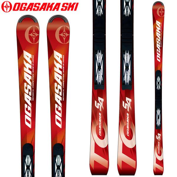 10%OFFクーポン発行中!11/22まで OGASAKA オガサカ 18-19 スキー Ski 2019 TC-SA + FM-600 (プレート付き) 基礎 デモ ショート 小回り (-):