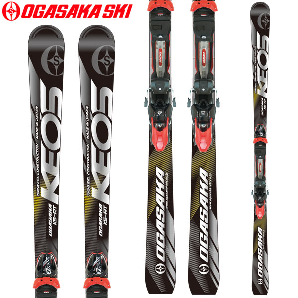 10%OFFクーポン発行中!11/22まで OGASAKA オガサカ 18-19 スキー Ski 2019 ケオッズ KEO'S KS-RT/BK + PRD12 GW(金具付き)基礎 デモ オールラウンド (-):